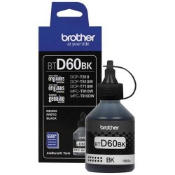 Brother BT-D60BK Tinta Refill for DCP-T310W DCP-T510W DCP-T710W MFC-T810W MFC-T910DW HL- T4000DW MFC-T4500DW Black