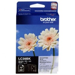 Brother LC-39BK Tinta Catridge DCP-J125 DCP-J140W MFC-J220 MFC-J410 Black