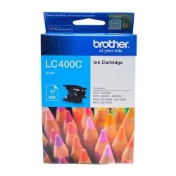 Brother LC-400C Tinta Catridge DCP-J725DW MFC-J430W MFC-J625DW MFC-J5910DW MFC-J671DW MFC-6910DW Cyan