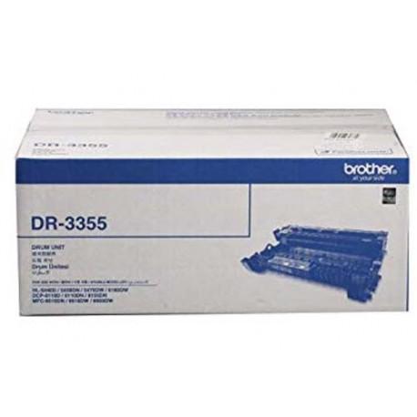 Brother DR-3355 Mono Drum Cartridge For HL-5440D HL-5450DN HL-5470DW HL-6180DW DCP-8155DN MFC-8510DN MFC-8910DW