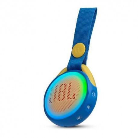 JBL JR POP Kids portable Bluetooth speaker blue