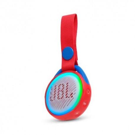 JBL JR POP Kids portable Bluetooth speaker red