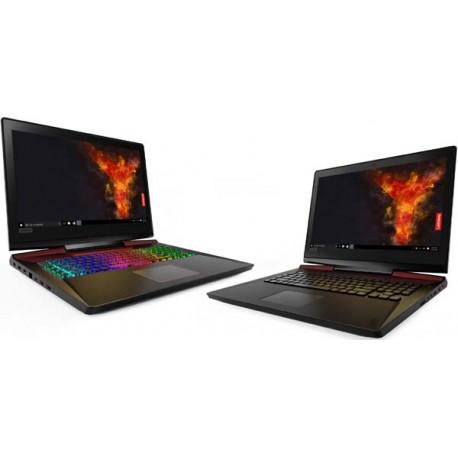 "Lenovo legion Y920 Gaming Laptop i7-7700HQ 32GB 2TB 256GB 17.3"" FHD WIn 10 Home"
