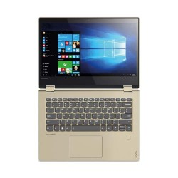 Lenovo Ideapad Yoga 520-LI0ID 2-in-1 Multitouch Intel Core i3-7020 8GB 1TB VGA MX130 2GB Win 10 14 Inch Gold