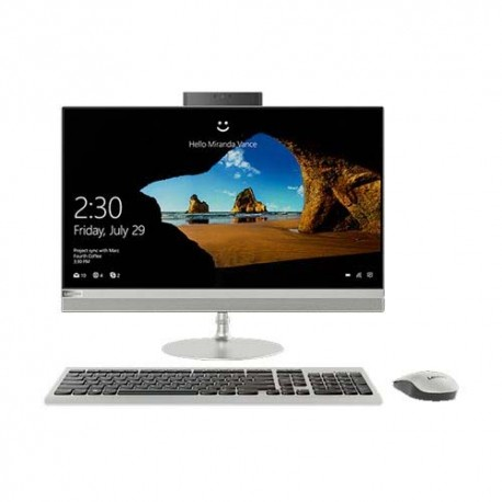 Lenovo IdeaCentre 520-24ICB 32ID All in One i5-8400T 4GB 2TB AMD 530 2GB DOS 23.8 Inch Silver