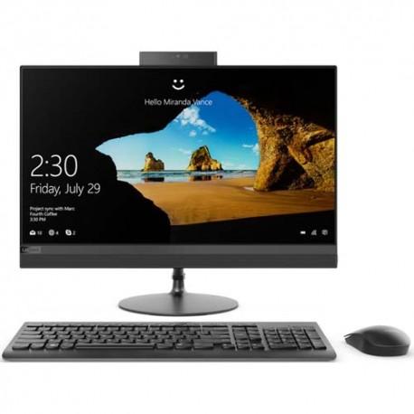 Lenovo IdeaCentre 520-24ICB 0YID All in One i7-8700T 8GB 2TB ATI Radeon 530 2GB Win10 23.8 Inch Black