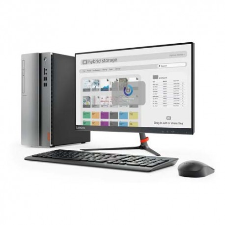 Lenovo Ideacentre IC510-15IKL NVID Dekstop PC i5-7400 4GB 2TB GT730 2GB DOS 21.5""