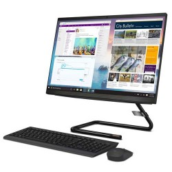 Lenovo IdeaCentre A340-22ICB 5WID All in One i5-9400T 8GB 1TB Integrated DOS 21.5 Inch Black