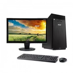 Acer Aspire TC708 Desktop PC Intel Core i3-8100 4GB 1TB Nvidia GT720 2GB DOS 19.5""