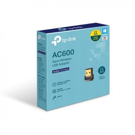 TP-Link Archer T2U Nano AC600 Nano Wireless USB Adapter