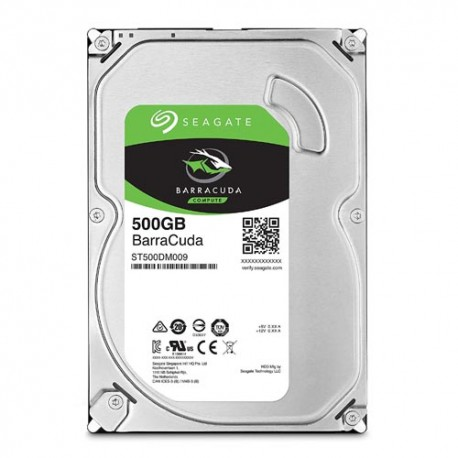 Seagate BarraCuda 500GB SATA3 Hard Disk Internal 3.5inc