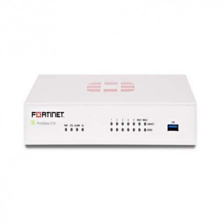Fortinet Fortigate 51E Bundle Hardware Plus 24×7 Forticare and FortiGuard UTM Bundle 1 Year