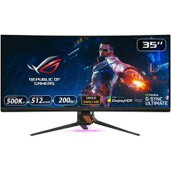 ASUS ROG Swift PG35VQ Ultra-Wide HDR Gaming Monitor 65 Inch