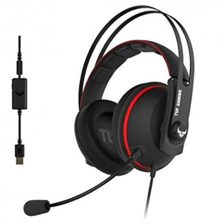 ASUS TUF Gaming H7 Headset Red