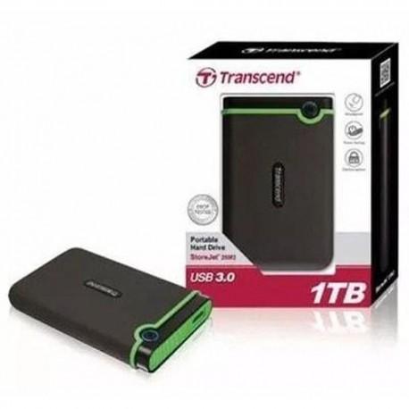 Transcend TS500GSJ25M3S 1TB Storejet 25M3 Hardisk External USB 3.0 Iron Gray