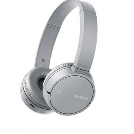Sony WH-CH500 Wireless On-Ear Headphone Abu-abu Muda