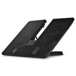 "DeepCool U Pal 14cm Fan Laptop Cooler, USB 3.0 Port Upto 15.6"""