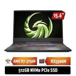 "MSI Alpha 15 A3DDK 9S7-16U622-060 AMD Ryzen 7-3750H 8GB 512GB RX5500M 6GB 15.6"" FHD Win10Home"