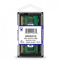 Kingston 4GB 1600MHz DDR3L PC3-12800 1.35V Non-ECC CL11 SODIMM (KVR16LS11/4)
