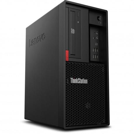Lenovo ThinkStation P330-UID Tower WorkStation i7-9700 32GB 1TB+256GB Win10 24Inch (30CYS1UT00)