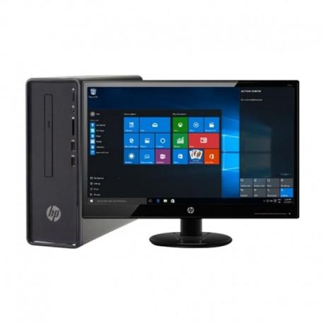 """HP Dekstop 190-0201d R3-2200G 8GB 1TB VEGA3 24"""" Win10SL (4YR20AA)"""