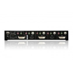 ATEN CM0264 2x4 DVI-HD Audio/Video Matrix KVMPharga jual ATEN CM0264 2x4 DVI-HD Audio Video Matrix KVMP™ Switch™ Switch