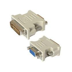 Konverter Port DVI-I ke D-Sub VGA 15pin Generik