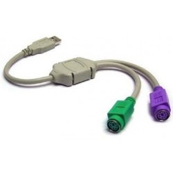 Hot selling USB to PS2 Converter Cable