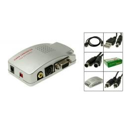 PC VGA to TV AV Rca