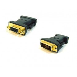DVI-A Dual Link Male to HD15(VGA) Female Adapters