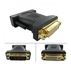 M1-D Male to DVI-D Dual Link Female Adapter