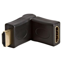 HDMI Port Saver Adapter (Male to Female) - Swiveling Type