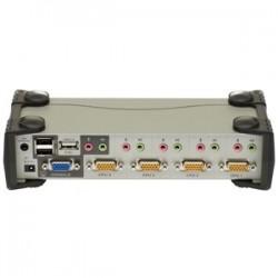Aten CS1734B 4-Port USB 2.0 KVMP Switch With OSD
