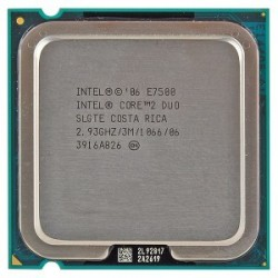 Intel Core 2 Duo E7200 2.93Ghz FSB 1066 Mhz Cache 3MB Tray Socket LGA 775
