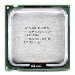 Intel Core 2 Duo E7500 2.93Ghz FSB 1066 Mhz Cache 3MB Tray Socket LGA 775