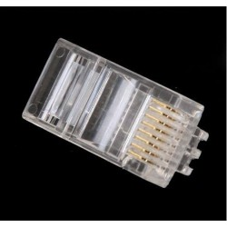 AMP Connector RJ45 Cat.6 100 Pieces