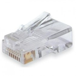 AMP Connector RJ45 STP Outdoor 100 Pieces