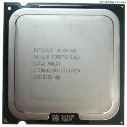 Intel Core 2 Quad Q9300 2.50Ghz FSB 1333 Mhz Cache 6MB Tray Socket LGA 775