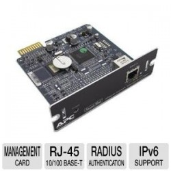 APC AP9631 Network Management Card With Enviromental Monitoring