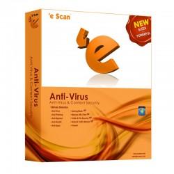 eScan ANTI VIRUS 1 PC