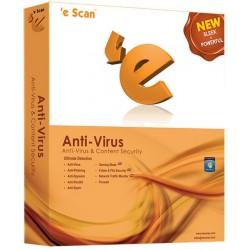 eScan ANTI VIRUS 3 PC