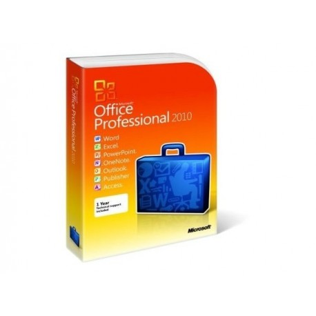 Office 2010 Proffesional Word Excel Outlook Poweoint Publisher Access FPP 1 User