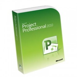 Project Proffesional 2010 32 Bit-x64 English DVD