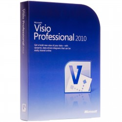 Visio Proffesional 2010 32 Bit-x64 English Intl DVD