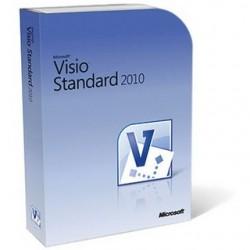 Visio Standard 2010 32 Bit-x64 English DiskKit MVL DVD