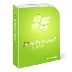 Windows 7 Starter SP1 32-bit English SEA DVD GJC-00579
