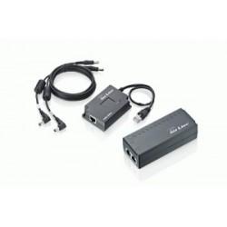 Airlive 48V Active POE Splitter with 802.3af switchable output 5V 7.5V 9V 12V POE-100AF