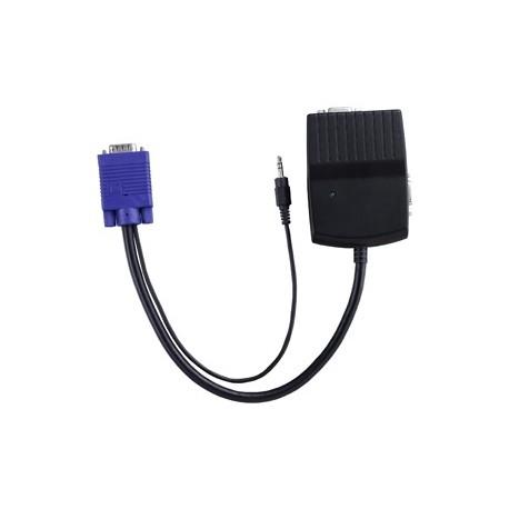 Avlink vsc-12a 2 port VGA splitter audio (portable)