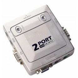 OXCA KSP-112A 2 port PS2 KVM switch