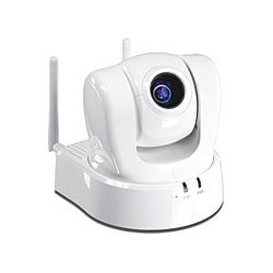 TRENDnet ProView Wireless N Pan Tilt Zoom Internet Camera. 10x optical zoom CCD sensor. TV-IP612WN